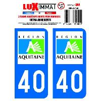 Adhesifs & Stickers 2 Adhesifs Resine Premium Departement 40 - ADNAuto