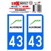 Adhesifs & Stickers 2 Adhesifs Resine Premium Departement 43