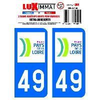Adhesifs & Stickers 2 Adhesifs Resine Premium Departement 49 - ADNAuto