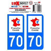 Adhesifs & Stickers 2 Adhesifs Resine Premium Departement 70 - ADNAuto