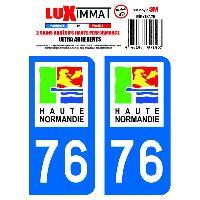 Adhesifs & Stickers 2 Adhesifs Resine Premium Departement 76 - ADNAuto