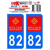 Adhesifs & Stickers 2 Adhesifs Resine Premium Departement 82 Generique