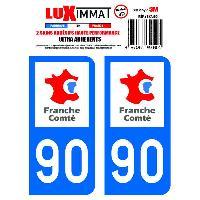Adhesifs & Stickers 2 Adhesifs Resine Premium Departement 90 Generique