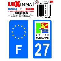Adhesifs & Stickers 2 Adhesifs Resine Premium F+27 pour moto Generique