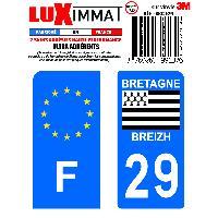 Adhesifs & Stickers 2 Adhesifs Resine Premium F+29 Generique