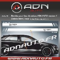 Adhesifs & Stickers 2 Stickers compatible avec bas de caisse ADNAuto - NoirBlanc - ADNLifestyle