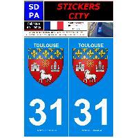 Adhesifs & Stickers 2 autocollants City 31
