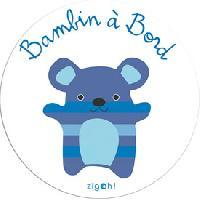 Adhesifs & Stickers Adhesif Bambin a bord - Zigoh