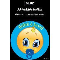 Adhesifs & Stickers Adhesif Bebe a Bord Bleu SCA6