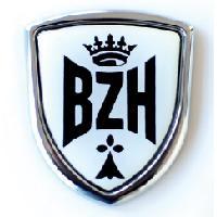 Adhesifs & Stickers Adhesif Sticker - Embleme BZH - 3.7x3.2cm - Aimante