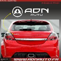 Adhesifs & Stickers Autocollant ADNAuto - Logo horizontal - Blanc - 11.5cm