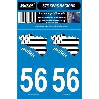 Adhesifs & Stickers Autocollants SR56-2