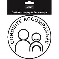 Adhesifs & Stickers Disque Conduite Accompagnee Electrostatique SCA8
