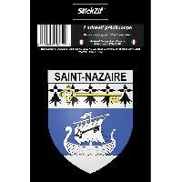 Adhesifs & Stickers STICKZIF 1 Adhesif Blason Saint Nazaire STV44-4B