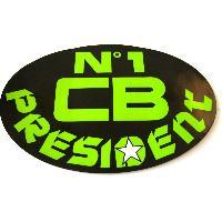 Adhesifs & Stickers Sticker officiel President - N1 CB