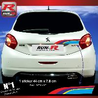 Adhesifs & Stickers Stickers coffre 00AY PEUGEOT Sport pour 208 Run-R Stickers