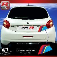 Adhesifs & Stickers Stickers coffre 00AZ PEUGEOT Sport pour 208 Run-R Stickers