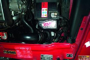 Adm 156 Boite a Air Carbone Dynamique CDA compatible avec Alfa Romeo 156 1.9 JTD de 00 a 03