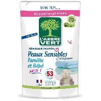 Adoucissant Recharge Adoucissant Peaux sensibles - Famille et bebe aussi - 800 ml