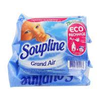 Adoucissant SOUPLINE Doses Grand air - 3x200ml