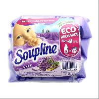 Adoucissant SOUPLINE Doses lavande - 3x200ml
