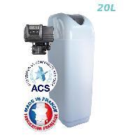 Adoucisseur D'eau - Cartouche D'adoucisseur D'eau - Ioniseur D'eau Adoucisseur 20L Fleck 5700SXT Bypass Inox