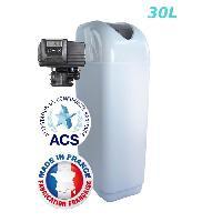 Adoucisseur D'eau - Cartouche D'adoucisseur D'eau - Ioniseur D'eau Adoucisseur 30L Fleck 5700SXT Bypass Inox