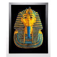 Affiche 18TH DYNASTY Image encadree Tutenkhamun 67x87 cm Multicolore