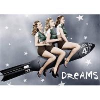 Affiche Affiche papier - American Rocket Girls - 50x70 cm - MID