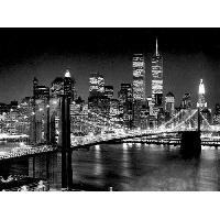 Affiche Affiche papier - Brooklyn Bridge - Silberman - 60x80 cm - MID