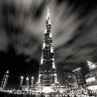 Affiche Affiche papier - Burj Khalifa. Dubai - Stawiarz - 70x70 cm - MID