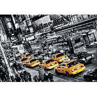 Affiche Affiche papier - Cabs Queue - Feldmann - 60x80 cm - MID