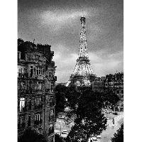 Affiche Affiche papier - Eiffel Tower Evening - Silberman - 60x80 cm - MID