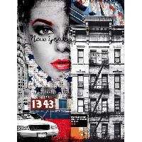 Affiche Affiche papier - Fashion City - Braun Studio - 60x80 cm - MID