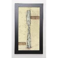 Affiche BENNETT Image encadree Knife 29.7x57 cm Beige - Generique