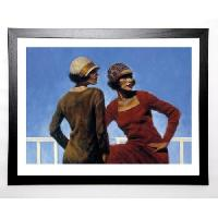 Affiche BLAKELY Image encadree Look Who's There 67x87 cm Multicolore - Generique