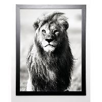 Affiche BLONDE ATTITUDE Image encadree Majesty 67x87 cm Gris