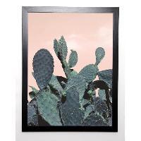Affiche BRAUN STUDIO Affiche encadree Cactus Raquettes 57x77 cm