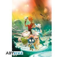 Affiche Poster Dofus Film - Jorus. Kerubim et leurs amis - Abystyle