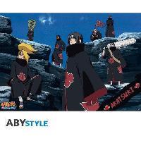 Affiche Poster Naruto Shippuden - Akatsuki - 98 x 68 cm
