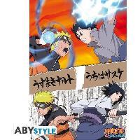 Affiche Poster Naruto Shippuden - Naruto vs Sasuke