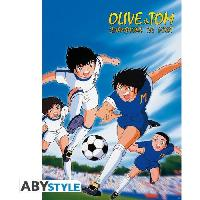 Affiche Poster Olive Et Tom - Atton VS Landers - Abystyle