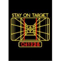 Affiche Poster metallique Star Wars - Stay On Target - Generique