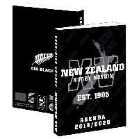 Agenda - Organiseur - Recharge ALL BLACKS Agenda Scolaire 2019-2020 193ALL101JUP - 1 jour par page - Couverture cartonnée souple - Papier PEFC - 12 x 17 cm - Aucune