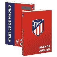 Agenda - Organiseur - Recharge ATLETICO MADRID Agenda Scolaire 2019-2020 193ATM101JUP - 1 jour par page - Couverture cartonnée souple - Papier PEFC - 12 x 17 cm - Aucune
