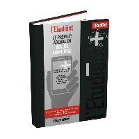 Agenda - Organiseur - Recharge ETUDIANT Agenda 400118766 - 15 x 21 cm - 1 jour par page - Couverture Ouatinée Motifs - 352 P - Couleur Noir - Aucune