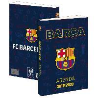 Agenda - Organiseur - Recharge FC BARCELONE Agenda Scolaire 2019-2020 193FCB101JUP - 1 jour par page - Couverture cartonnée souple - Papier PEFC - 12 x 17 cm - Aucune