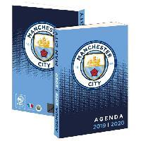 Agenda - Organiseur - Recharge MANCHESTER CITY Agenda Scolaire 2019-2020 193MAN101JUP - 1 jour par page - Couverture cartonnée souple - Papier PEFC - 12 x 17 cm - Aucune