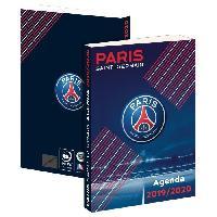 Agenda - Organiseur - Recharge PARIS SG Agenda Scolaire 2019-2020 193PSG101JUP - 1 jour par page - Couverture cartonnée souple - Papier PEFC Imprim'vert - 12x17 cm - Aucune