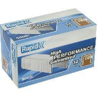 Agrafe RAPID 5000 agrafe n°12 Rapid Agraf 14mm